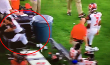 Bucs' Mike Evans Is Not Happy With Team Losing; Goes Crazy On The Sideline (VIDEO)