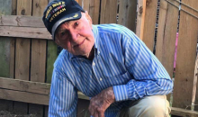 97-Year-Old WWII Veteran Takes A Knee To Support NFL Players