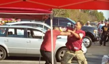 Redskins Fan Gets Emotionally Distraught After He Was Forced To Fight An Out-Of-Control Family Member (VIDEO)