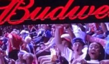 St. Louis Cardinals Fan Flashes The Entire Crowd on The Scoreboard (PIC)
