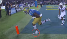 Was UCLA's Game-Winning TD Pass vs. Texas A&M Actually Incomplete? (VIDEO)