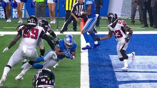 golden tate touchdown overturned