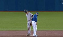 Yankees' Todd Frazier Fell Victim To The Hidden Ball Trick Against Blue Jays (VIDEO)