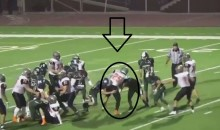 High School Football Player Breaks Seven Tackles Before Scoring A 71-Yard TD (VIDEO)
