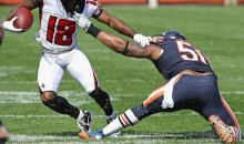 Bears Linebacker Jerrell Freeman Played 55 Snaps with Torn Pectoral Muscle, Because Football (Pic)