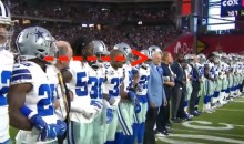 Watch Jerry Jones Chase Down Cameraman To Make Sure He's Seen Kneeling With His Players (VIDEO)