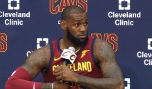 LeBron James Speaks Publicly About Kyrie Irving Trade for the First Time (Video)