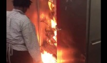Lions Lose Heart-Breaking Game; Head Back To Locker Room To Find It's On Fire (VIDEO)