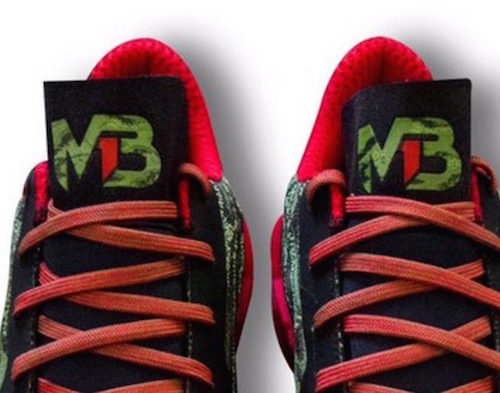 melo ball 1 logo sneakers