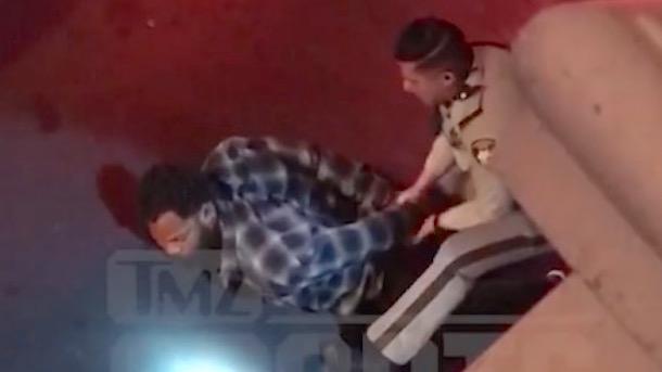 michael bennett arrest video