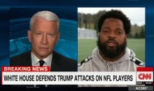 """Michael Bennett Tells Anderson Cooper He'd Love to """"Sit Down with the President and Talk About These Issues"""" (Video)"""