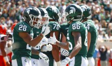 Michigan State Football Players Will Spend Their Bye Week in Houston Helping Flood Victims