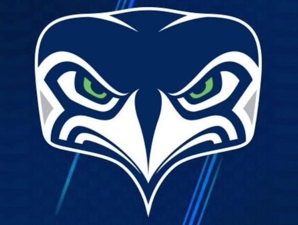 new seahawks logo mocked on twitter