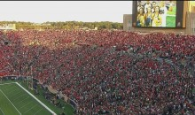 Notre Dame Stadium is Packed Full of Georgia Fans (VIDEO)