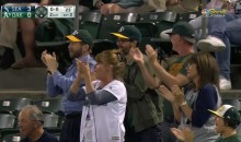 Bruce Maxwell Gets Standing Ovation in First At-Bat Since Taking a Knee During Anthem (Video)