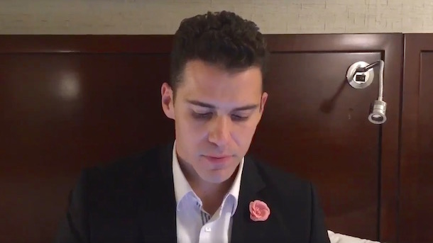 sergio dipp emotional video response to criticism