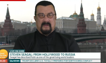 Steven Seagal Says It's 'Outrageous' & 'Disgusting' To See NFL Players Kneeling During Anthem (VIDEO)
