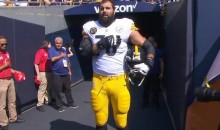Steelers' Alejandro Villanueva Says He Now 'Feels Embarrassed' By Photo Of Him Standing Alone
