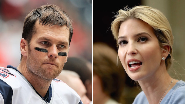 tom brady ivanka trump
