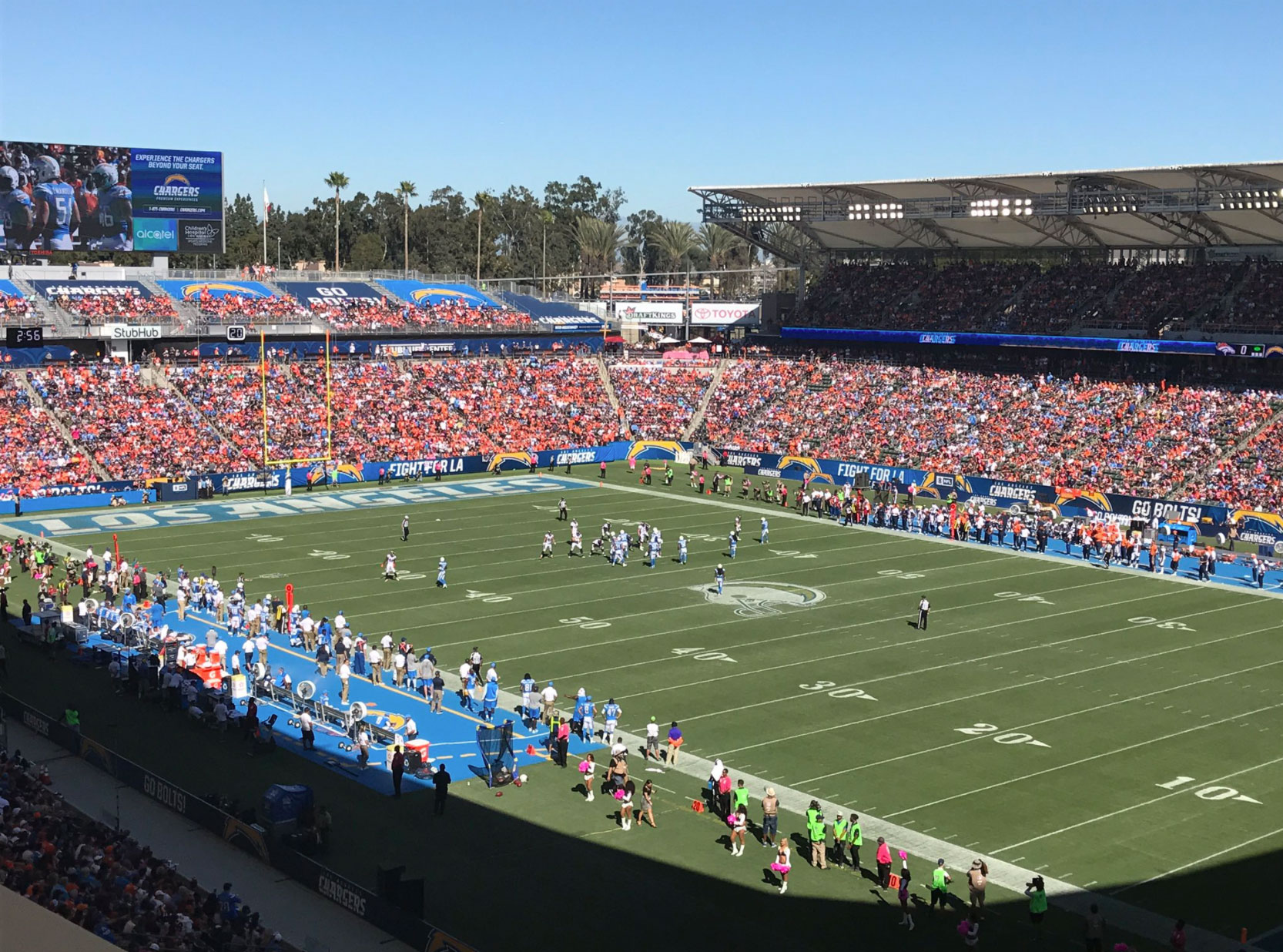 Yet Another Chargers Home Game Has Been Turned Into An