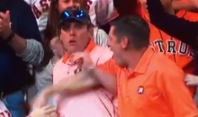 Astros Fan Steals World Series HR Ball From Woman, Throws It Back On Field (VIDEO)