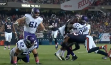 Bears' Adrian Amos Probably Delivered The Hardest, Loudest Hit Of The Year (VIDEO)