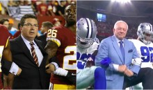 REPORT: Jerry Jones, Dan Snyder Among Many Owners Who Want Kneeling To Stop Because They're Losing Money