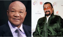 68-Year-Old George Foreman Challenges 65-Year-Old Steven Seagal To Fight Him In Las Vegas