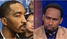 J.R. Smith Rips Stephen A. Smith For His Trayvon Martin Hoodie Comments