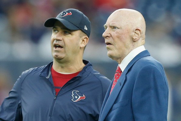 Texans Owner Bob McNair Takes Back Apology For Inmates Comment