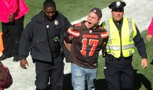 Cleveland Browns Fan Rushes Field, Gets Tackled & Arrested (VIDEO)