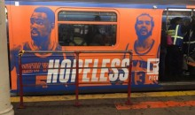 Looks Like Someone Started An Anti-Knicks Campaign On NYC Subway (PICS)