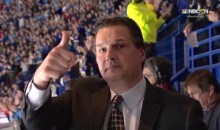 NHL Analyst Ed Olczyk Works First Game Since Beginning Cancer Treatment, Gets Standing O From Blues Fans (VIDEOS)
