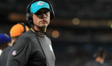 Dolphins Coach Adam Gase Says Players Must Stand For Anthem or Stay In Tunnel