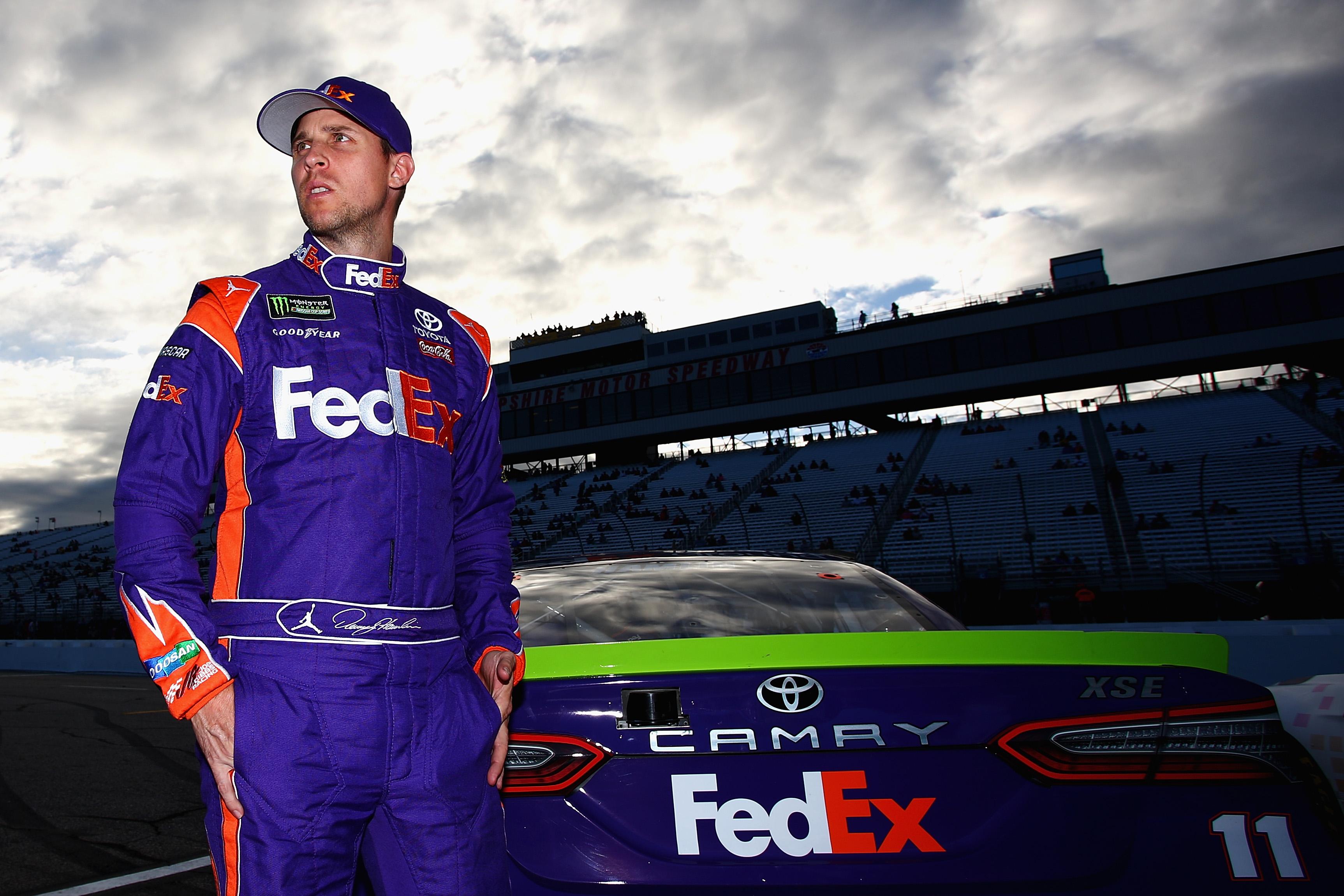 Denny Hamlin says NASCAR drivers deserve comparable pay to NBA, NFL