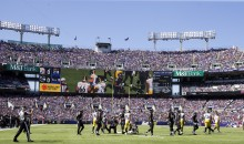 'Stand & Respect Our Flag' Banner Flown Over Steelers-Ravens Game