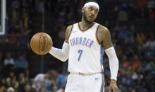 Carmelo Anthony Says He's Kaepernick's 'No. 1 Supporter' & Loves What He Is Doing