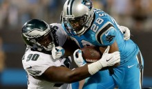 Carolina Panthers RB's Averaged a Laughable 2.769 INCHES Per Carry Last Night
