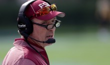 "FSU Coach Jimbo Fisher Threatened Fan Who Told Him To ""Get New Coaches"" (VIDEO)"