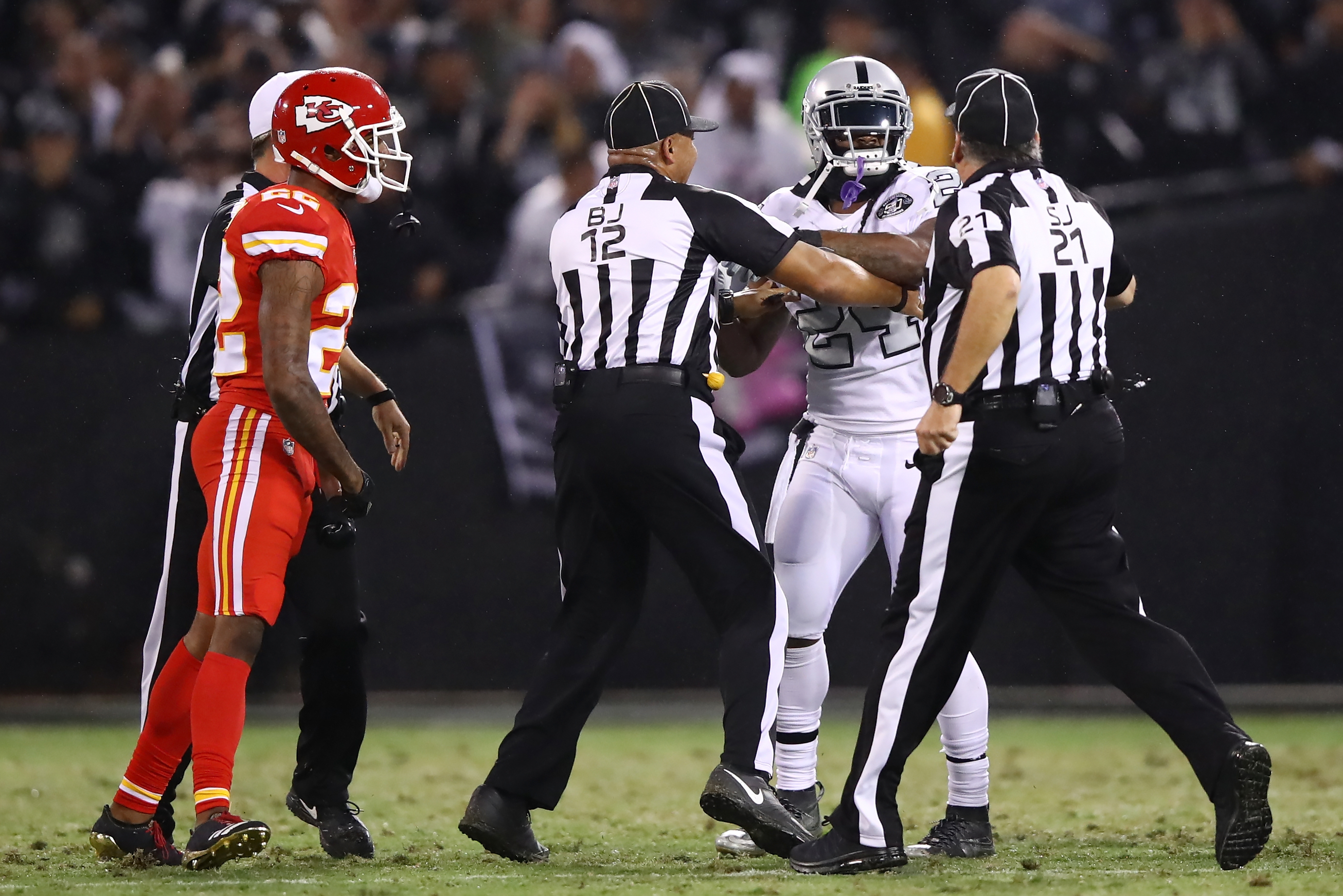 Marcus Peters plans to back up Marshawn Lynch in suspension appeal