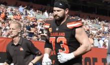 REPORT: Cleveland Browns Fear Season-Ending Triceps Tear For Joe Thomas