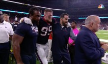 JJ Watt Suffers What Appears To Be An ACL Injury (VIDEO)