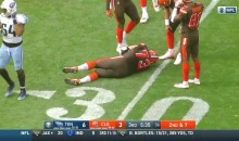 Browns OT Joe Thomas Misses First Career Snap After Getting Injured