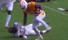 Tennessee RB John Kelly Delivers NASTY Stiff Arm vs. Gamecocks (VIDEO)