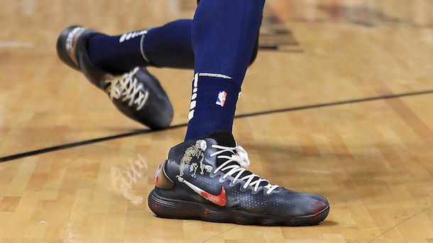 7d3cccf90429 Karl-Anthony Towns Friday the 13th Sneakers