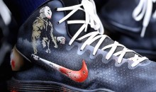 Karl-Anthony Towns Wears Amazing Friday the 13th Sneakers for Halloween (Pics)
