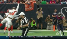 Browns QB Kevin Hogan Delivered His Best TD Pass Of The Season…To The Texans Defense (VIDEO)