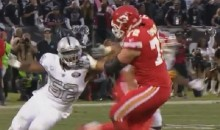 Khalil Mack Easily Manhandled Chiefs OL Eric Fisher With One Arm (VIDEO)