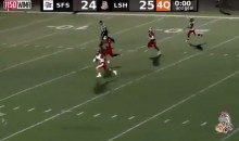 Kicker Makes Game-Saving Tackle Following RIDICULOUS Last-Second Kick Return (VIDEO)