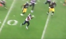 Leonard Fournette Waved In a Steelers Player To Come Hit Him During a Run (VIDEO)